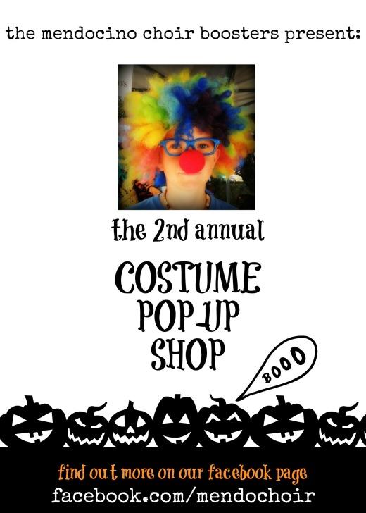 costume pop-up shop